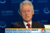 Legalization Debate Gains Powerful Supporter, Bill Clinton